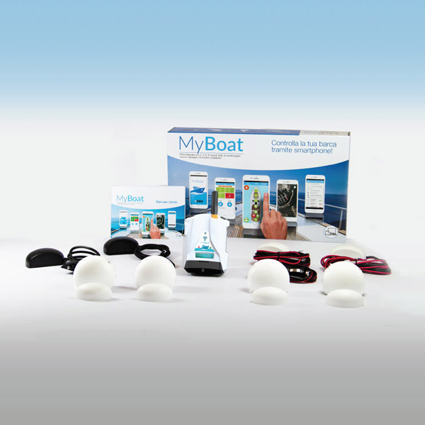 MyBoat   Remote control system and alarm management in real